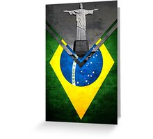 Flags - Brazil Greeting Card