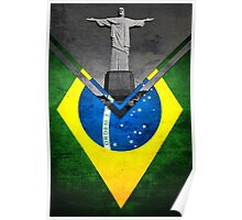 Flags - Brazil Poster