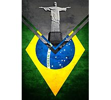 Flags - Brazil Photographic Print