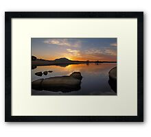 Another One With Sunset In The Title Framed Print