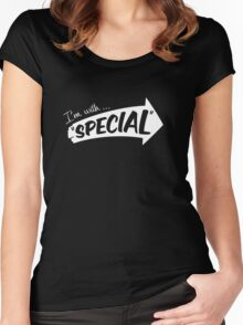 """I'm with ... """"Special"""" Women's Fitted Scoop T-Shirt"""