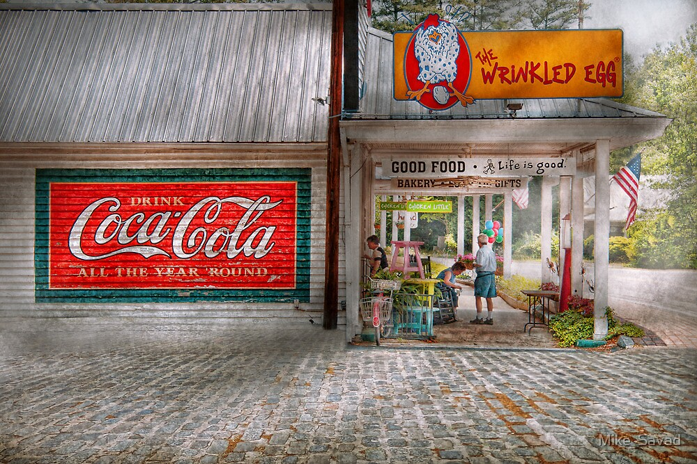 Store Front - Life is Good by Mike  Savad