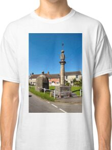 The Blind House and Market Cross, Steeple Ashton, Wiltshire, UK Classic T-Shirt