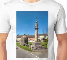 The Blind House and Market Cross, Steeple Ashton, Wiltshire, UK Unisex T-Shirt