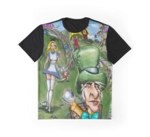 Alice at the Tea Party Graphic T-Shirt