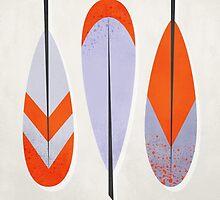 Three Feathers by fieldandsky