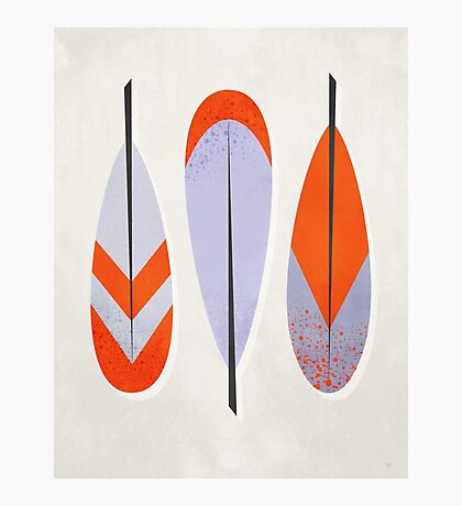 Three Feathers Photographic Print