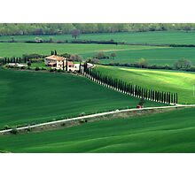 Val d'Orcia Photographic Print