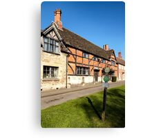The Old Merchant's Hall, Steeple Ashton, Wiltshire, UK Canvas Print