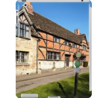 The Old Merchant's Hall, Steeple Ashton, Wiltshire, UK iPad Case/Skin