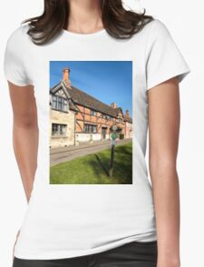 The Old Merchant's Hall, Steeple Ashton, Wiltshire, UK Womens Fitted T-Shirt
