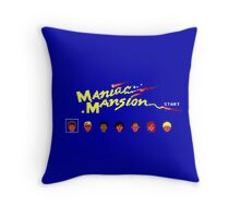 Maniac Mansion Throw Pillow