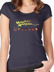 Maniac Mansion Women's Fitted Scoop T-Shirt