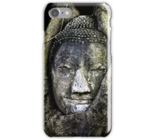 Buddha Head in Tree iPhone Case/Skin