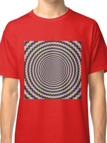 Brain-Buster in Blue Green and Pink Classic T-Shirt