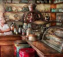 Americana - Store - Looking after the shop  by Mike  Savad