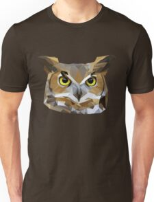 Low Poly Owl T-Shirt