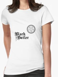 Black Butler 2 Womens Fitted T-Shirt