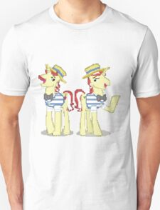 Flim Flam My Little Pony Brony Pegasister Pixel T-Shirt