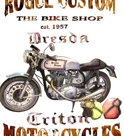 DRESDA TRITON T SHIRT Sticker