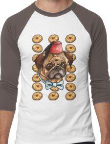 Pug & biscuits Men's Baseball ¾ T-Shirt