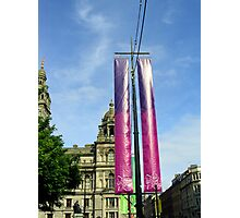 Olympic banners Photographic Print