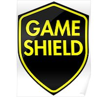 Game Shield (yellow) Poster