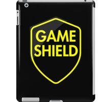 Game Shield (yellow) iPad Case/Skin