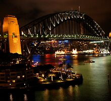 Sydney Harbour Bridge by Bob Christopher