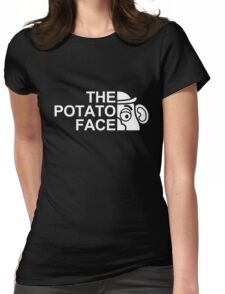 The potato face Womens Fitted T-Shirt