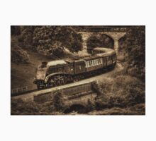 Sir Nigel Gresley Locomotive - Sepia Kids Clothes