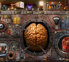 Steampunk - Information overload by Mike  Savad