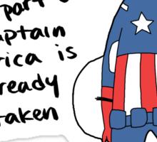 Captain Alfred Sticker