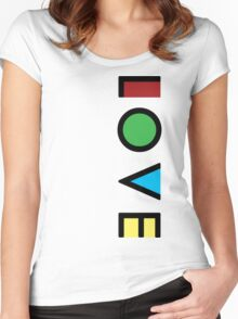 Love Cubism Women's Fitted Scoop T-Shirt