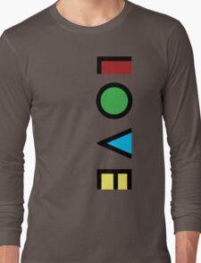 Love Cubism Long Sleeve T-Shirt