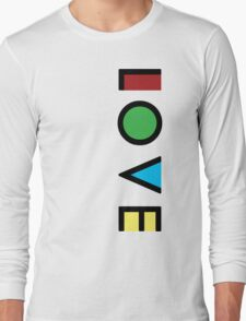 Love Cubism Long Sleeve T-Shirt