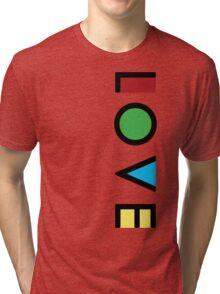 Love Cubism Tri-blend T-Shirt