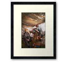 Steampunk - The Apprentice Framed Print