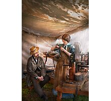 Steampunk - The Apprentice Photographic Print