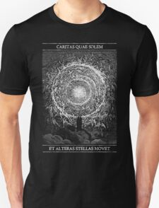 The Love That Moves the Sun and Stars Unisex T-Shirt