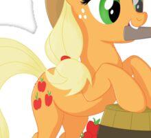 I'm... Applejack Sticker