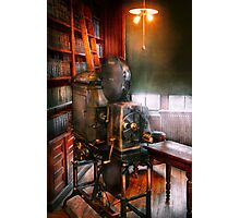 Steampunk - The Golden age of Cinema Photographic Print