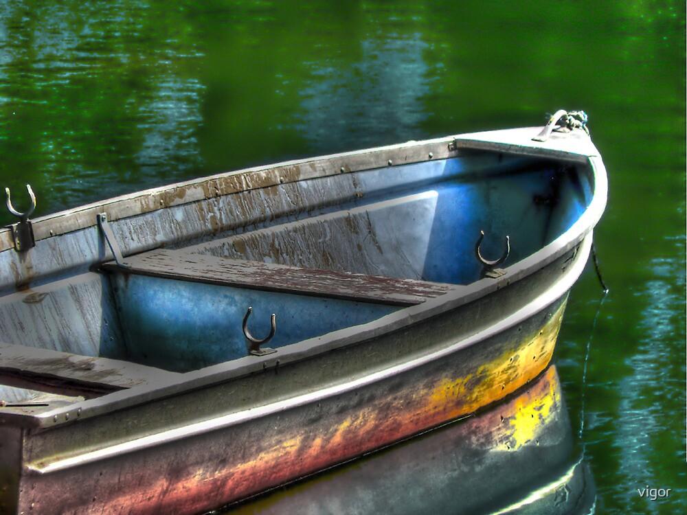 Oar, oar, oar your boat by vigor