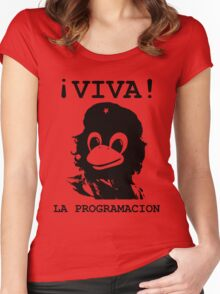 Viva programming Women's Fitted Scoop T-Shirt