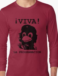 Viva programming Long Sleeve T-Shirt