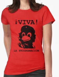 Viva programming Womens Fitted T-Shirt