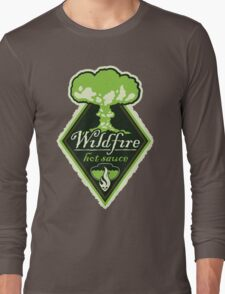 WILDFIRE HOT SAUCE Long Sleeve T-Shirt