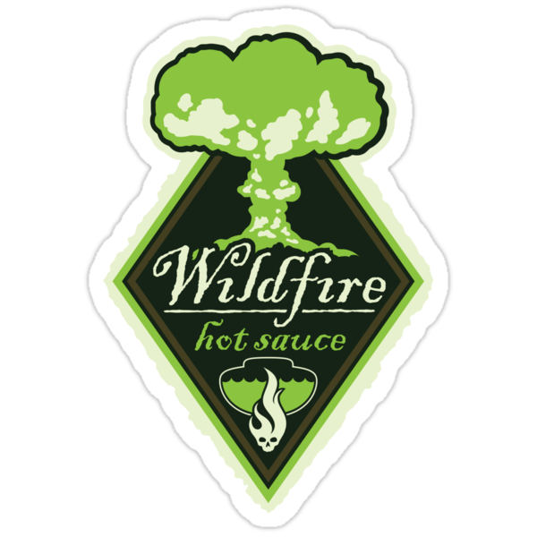 WILDFIRE HOT SAUCE by DREWWISE