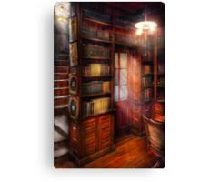 Steampunk - The semi-private study  Canvas Print
