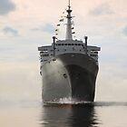 SS Rotterdam by Peet de Rouw